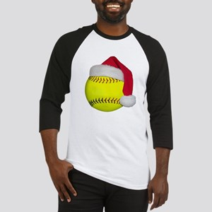 Softball Santa Baseball Jersey