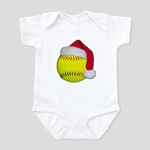 Softball Santa Infant Bodysuit