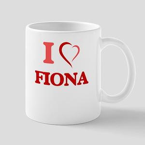 I Love Fiona Mugs