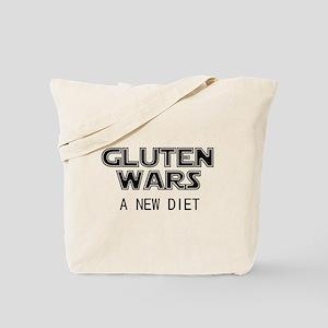 Gluten Wars: A New Diet Tote Bag
