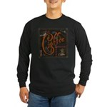 Coffee Spice Long Sleeve Dark T-Shirt
