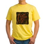 Coffee Spice Yellow T-Shirt
