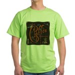 Coffee Spice Green T-Shirt