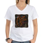 Coffee Spice Women's V-Neck T-Shirt