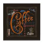 Coffee Spice Tile Coaster