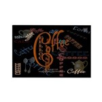 Coffee Spice Rectangle Magnet