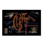 Coffee Spice Postcards (Package of 8)