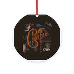Coffee Spice Ornament (Round)