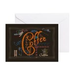 Coffee Spice Greeting Cards (Pk of 20)