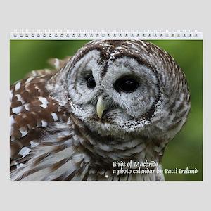 Birds Of Macbride Wall Calendar