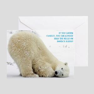 Polar Single Greeting Card