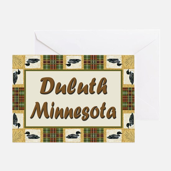 Duluth Loon Greeting Card