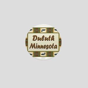 Duluth Loon Mini Button