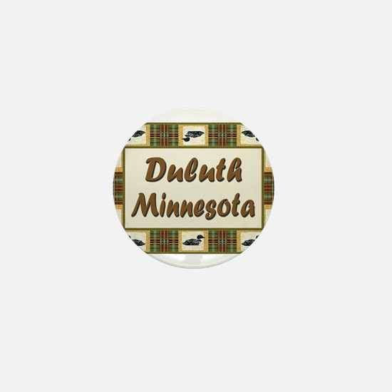 Duluth Loon Mini Button