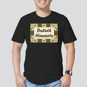 Duluth Loon Men's Fitted T-Shirt (dark)