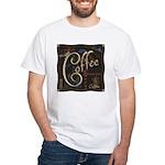 Coffee Mocha White T-Shirt