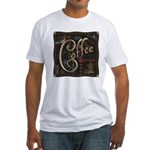 Coffee Mocha Fitted T-Shirt