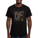 Coffee Mocha Men's Fitted T-Shirt (dark)