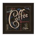 Coffee Mocha Tile Coaster