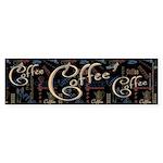 Coffee Mocha Bumper Sticker (10 pk)