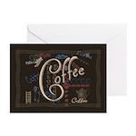 Coffee Mocha Greeting Cards (Pk of 10)