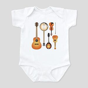 String Instruments Infant Bodysuit