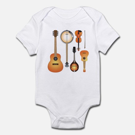 String Instruments Infant Bodysuit