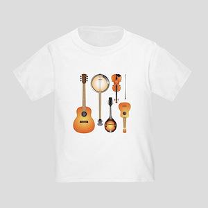 String Instruments Toddler T-Shirt