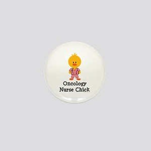 Oncology Nurse Chick Mini Button