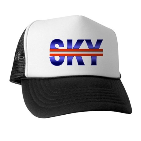 Blue SKY RedLine Trucker Hat