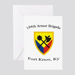 194th AR BDE Greeting Cards (Pk of 10)