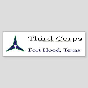 3rh Corps Bumper Sticker