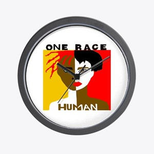 Anti-Racism Wall Clock