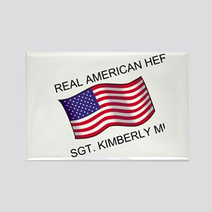 Real American Hero - Munley Rectangle Magnet