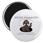 Worry Mammoth Magnet