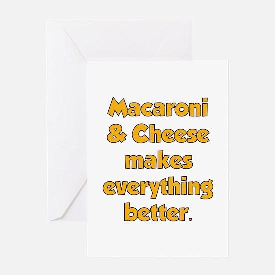 Mac N Cheese Greeting Card