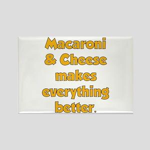 Mac N Cheese Rectangle Magnet