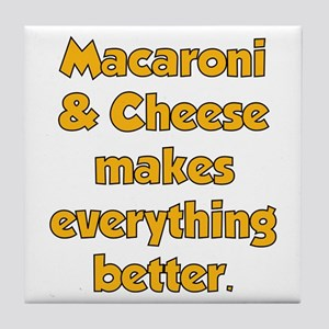 Mac N Cheese Tile Coaster