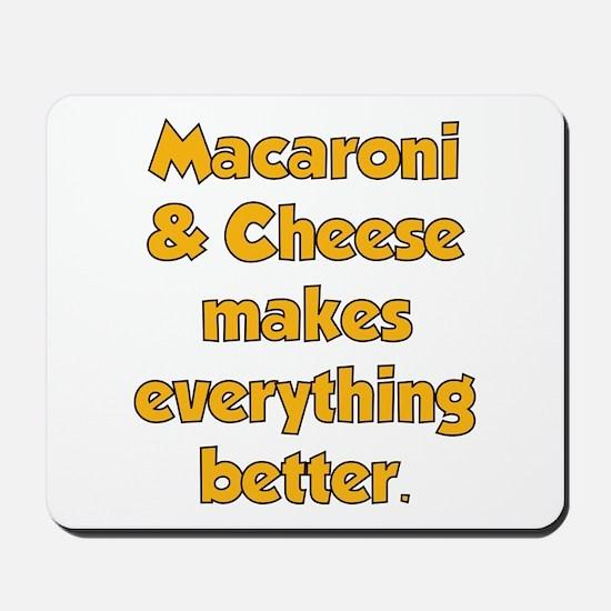 Mac N Cheese Mousepad