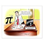 Heisenberg Principle Small Poster