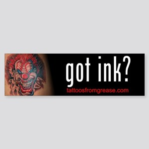 008 Tattoos From Grease Bumper Sticker