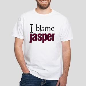 I blame Jasper White T-Shirt