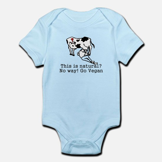 Natural?! Infant Bodysuit