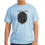 No Pistons Inside - Rotary Style - Light T-Shirt