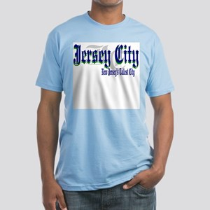 JERSEY CITY NEW JERSEY Fitted T-Shirt