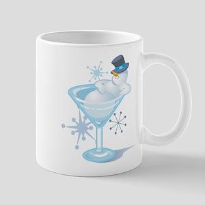 Snowman Martini Mug