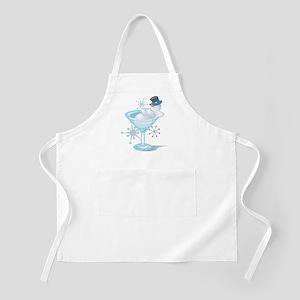 Snowman Martini Apron