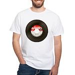 Jukeboxmafia Logo White T-Shirt