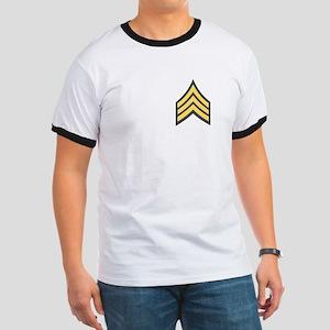 1-506th Infantry Sergeant Ringer T-Shirt