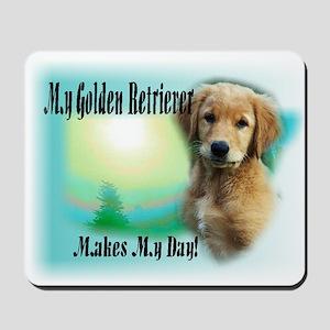 Golden Retriever Gifts Mousepad